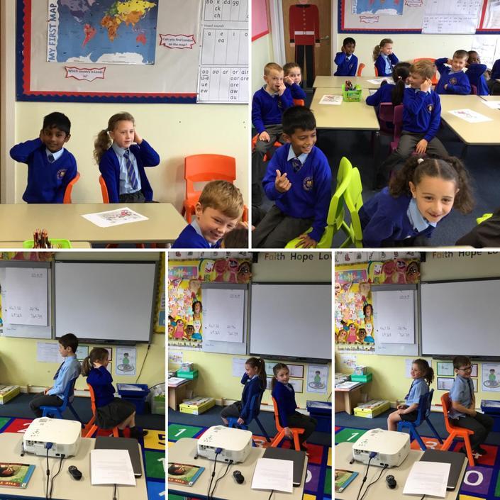 Drama work in Literacy
