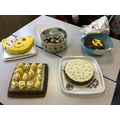 Year 6 Bake-off entries.