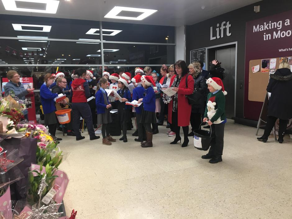 Singing for St Gemma's Hospice