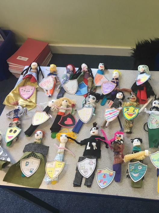 Some of our worry dolls.