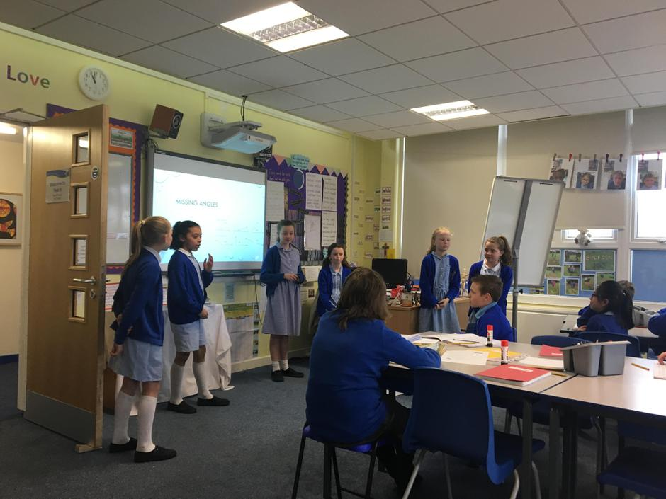 More Maths! The girls takeover!