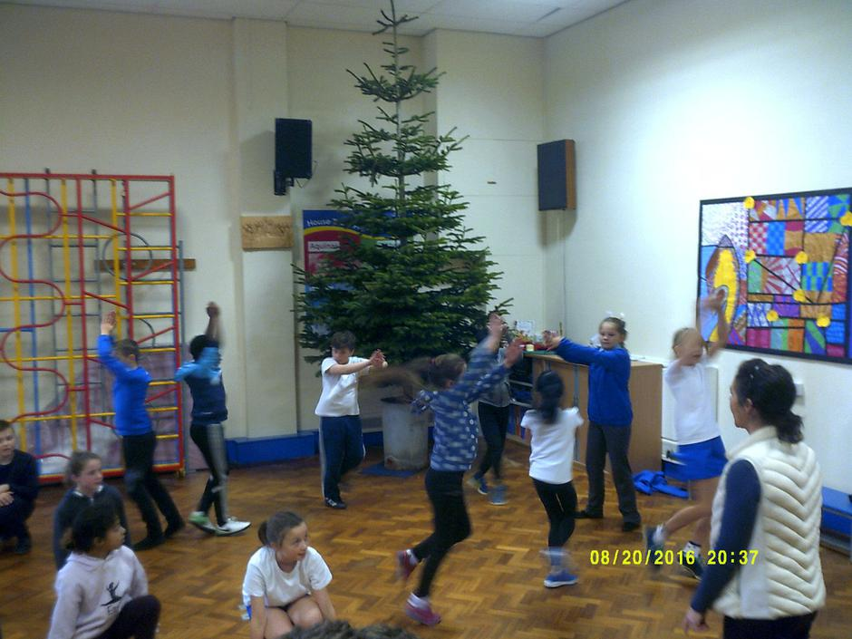 Practising for the Advent service