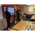 Our local police officers visit Y5&6