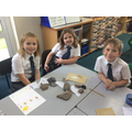 Here we are classifying rocks.