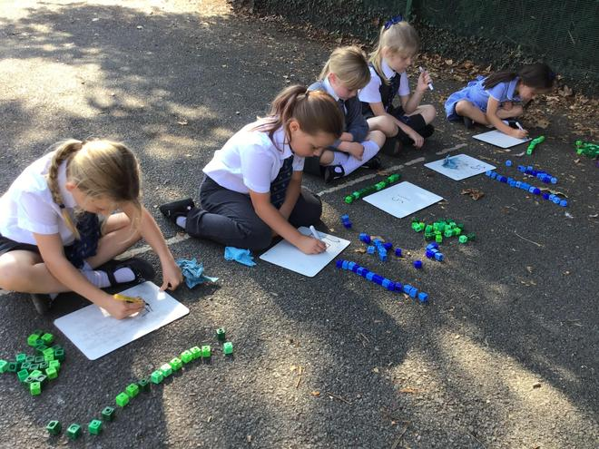 Counting Objects and writing numbers!