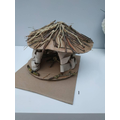 Erin has made this FABULOUS Celtic Roundhouse!
