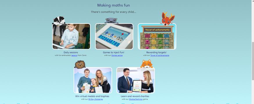 activities, challenges making maths fun!