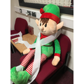 Day 2 Big Elf with the toilet roll!