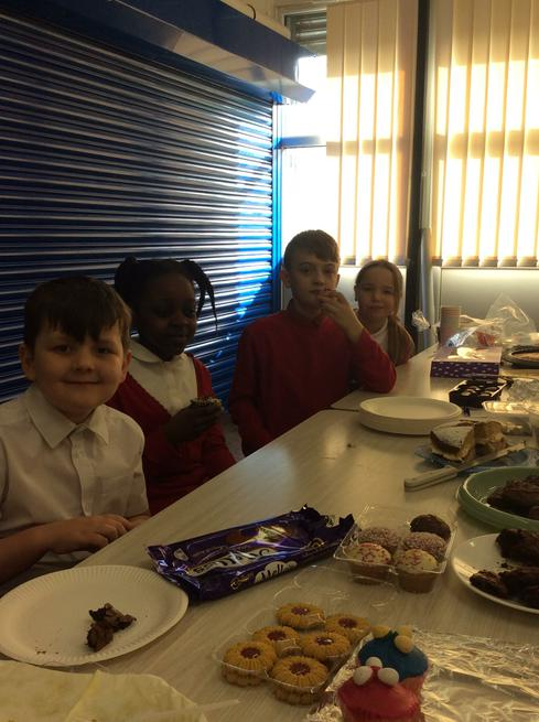 The Learning Council waited on fantastically!