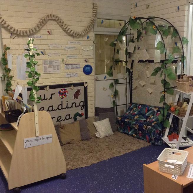 Elm - Nursery Reading Area