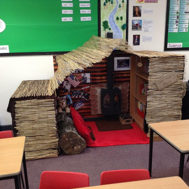 Sycamore 1 - Year 4 Reading Area