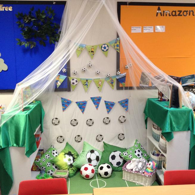 Rowan 1 - Year 5 Reading Area