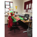 Day 1 Big Elf made himself at home!