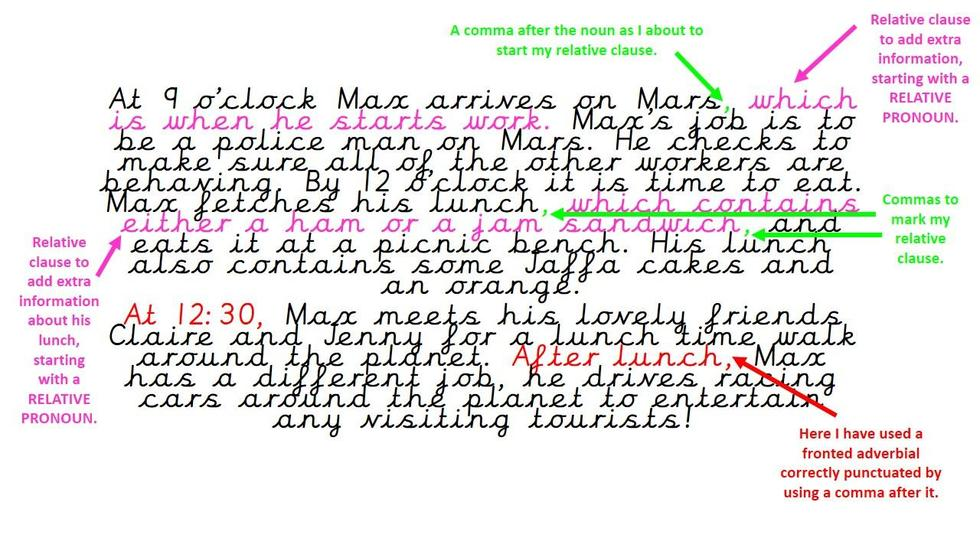 This is my 'middle' paragraph.