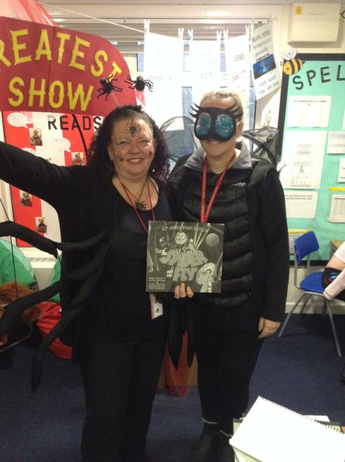 Don't get caught by the Spider And The Fly in Y6