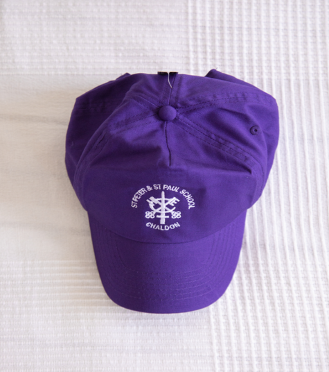 Purple summer cap  One size—4.80