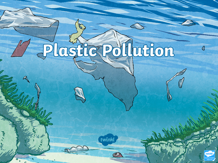 Look for this on Twinkl 'plastic pollution'