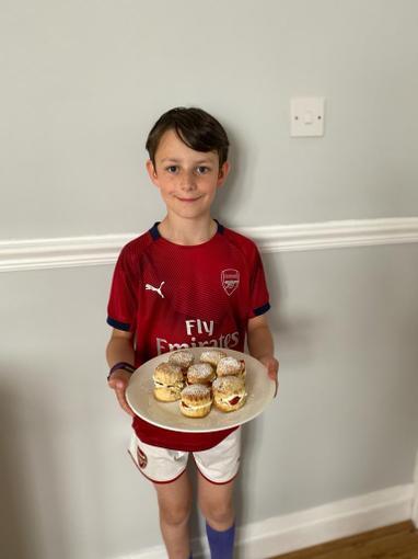 tasty scones for VE Day!