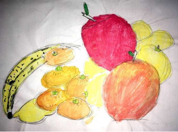 Zoe's Still Life Drawings