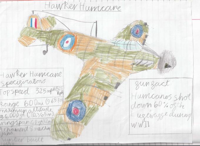 Ben's Hawker Hurricane