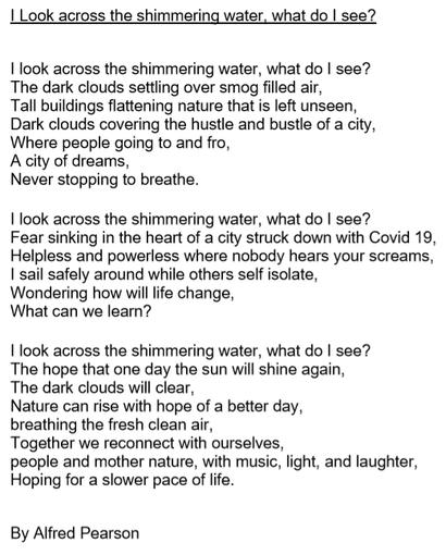 Alfie's Spring Poem