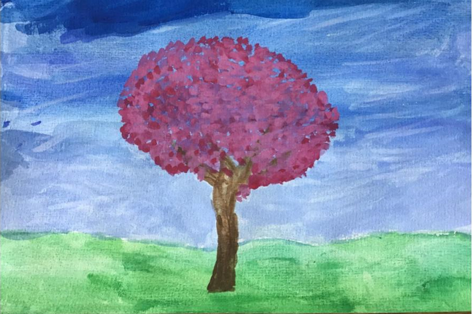 Santiago's Spring Tree