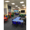 Brand new Reception classroom