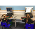 Computers and ipads in class and an ICT suite n school for all the class