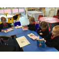 Sharing a book together during Guided Reading
