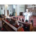 Father Sean spoke to us about baptism.