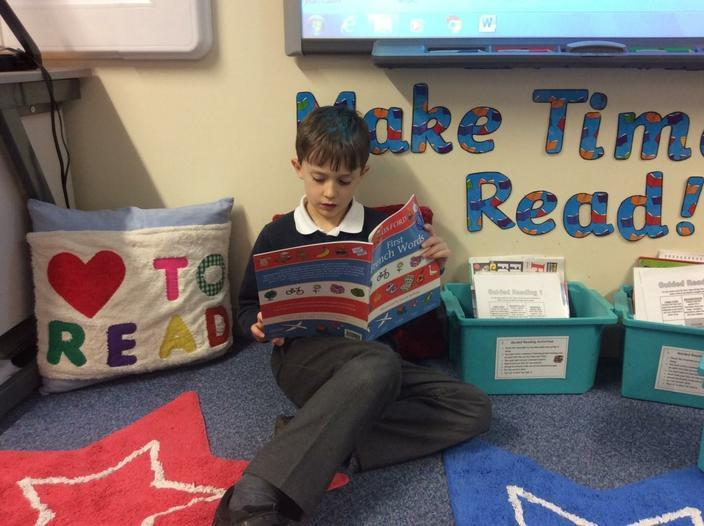 Our Reading Corner is a great success!