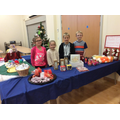 Selling handmade crafts to raise money for charity