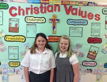 Kaitlin & Rihannah, School Council Representatives