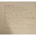 Poem sent to Radio 2