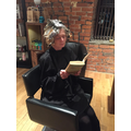 At the hairdresser!