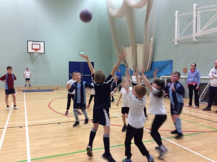 Benchball Comp. at Horbury Academy - 3rd place!