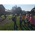 A sunny walk in the village