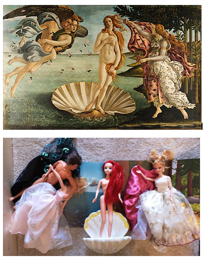 The Birth of Venus by Elissa / Botticelli