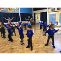 dance workshop - well done parents for joining in!