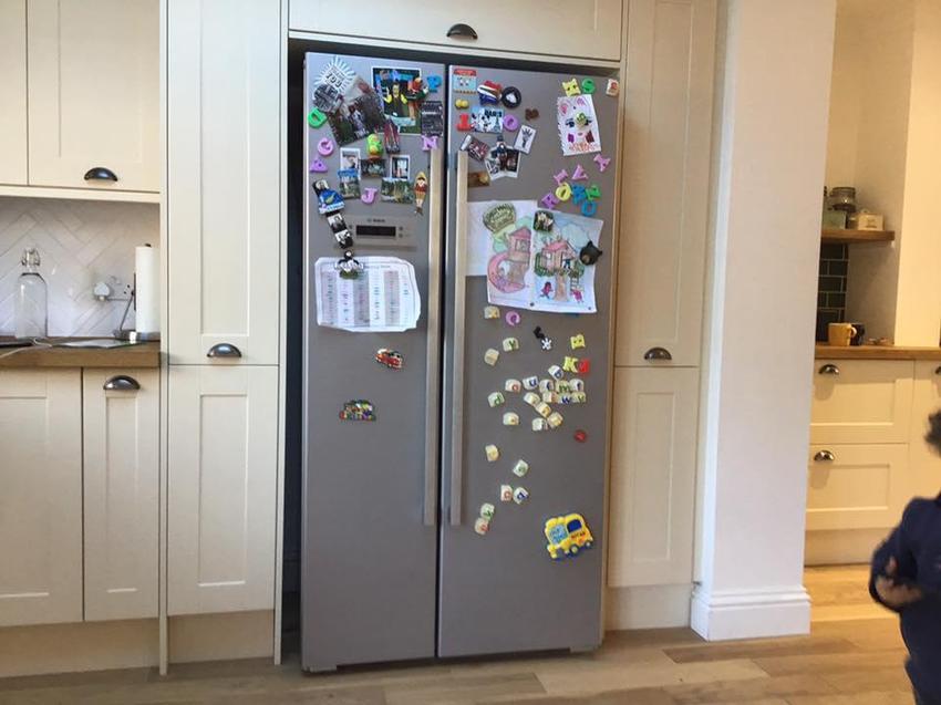 F for fridge