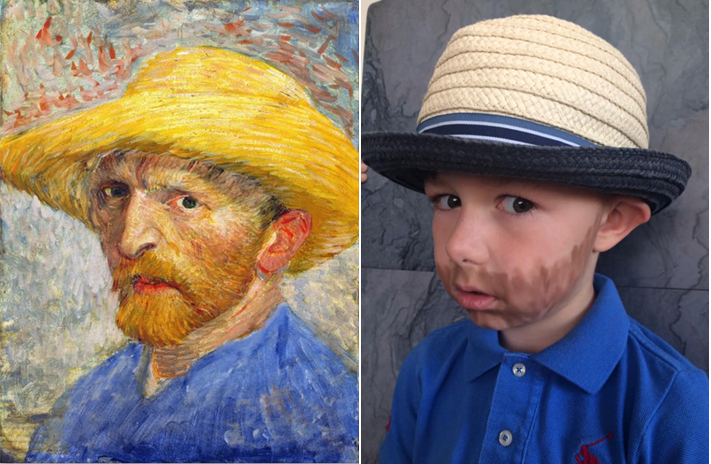 Self Portrait by Harry / Van Gogh