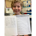 Oliver has been working hard at his Mummy's school
