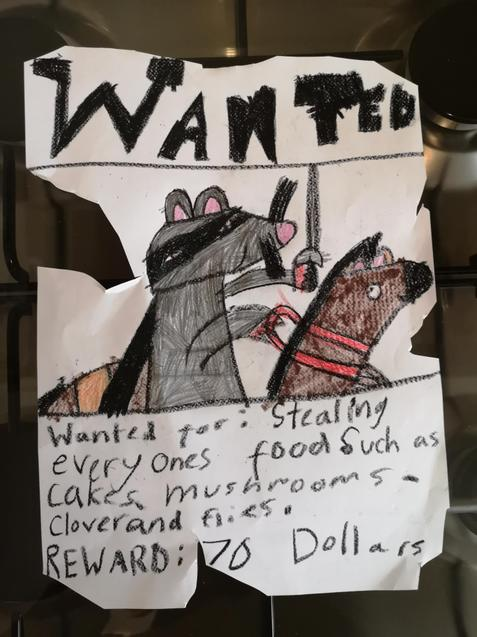 Elissa's wanted poster
