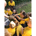 We had a visit from a Hedgehog!