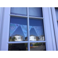 Tj decorated the house for VE day.