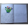Natalia wrote her magnificent thing story.