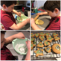 Noah made delicious biscuits.