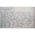 Szymon's description of Violet.