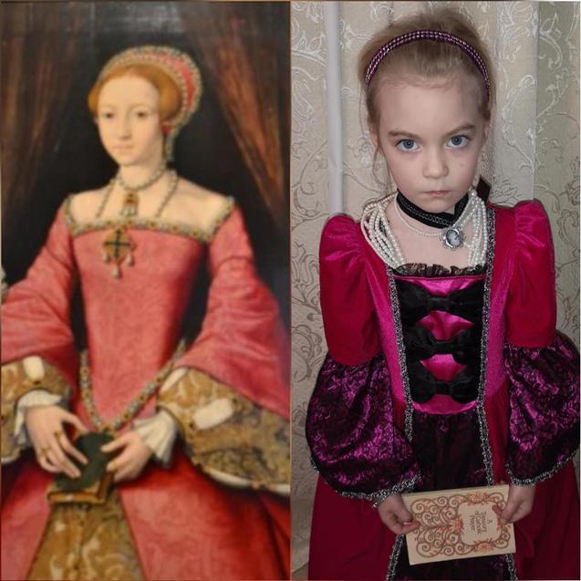 Elizabeth Tudor by Elissa / Scrots