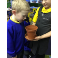 We have been learning about plants in science.